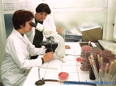 Laborator Institutul Cantacuzino