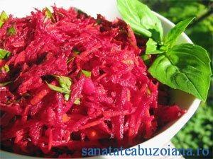sfecla rosie salata