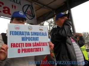 Protest Hipocrat (foto arhiva)