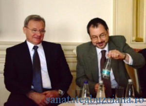 Dr. Gheorghe Borcean si dr. Calin Bumbulut