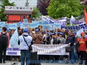Hipocrat, Promedica proteste medici