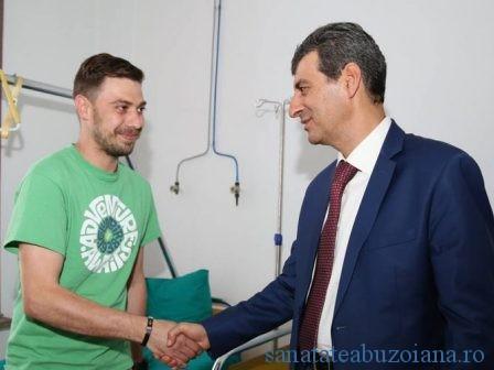 Bogdan Dragomir si ministrul Mihnea Motoc