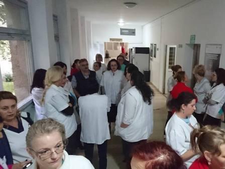 greva sanitas alba iulia
