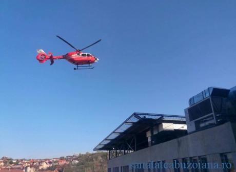 zbor elicopter smurd spital ordea - heliport
