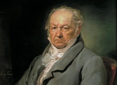 Goya - portret de Vicente López y Portaña