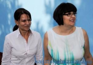 Dr. Viorica Mihalascu si Dr. Venera Acsinte