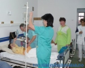 Putini medici, multi bolnavi internati