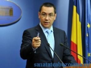 Primul ministru Victor Ponta