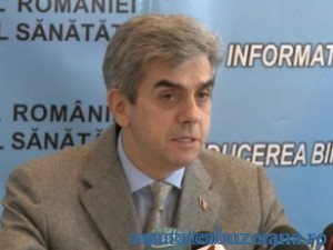 Eugen Nicolaescu , ministrul Sanatatii