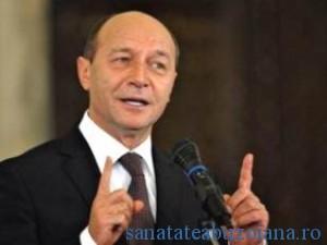 Traian Basescu, presedintele Romaniei