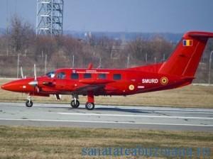 Noua aeronava SMURD (foto: MAI)