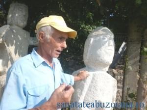 Ion Moaca, cioplitor in piatra si ghid