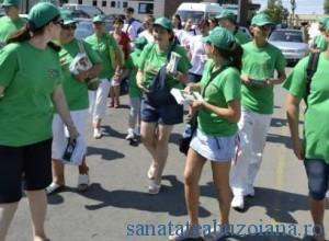Voluntarii au impresionat