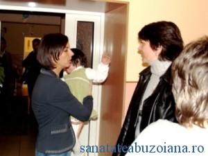 Alina Badulescu si reprezentanti UNICEF