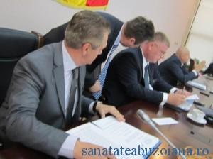 Presedintele Cristi Bigiu a semnat proiectul