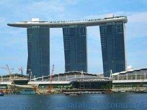 Hotelul in care s-au cazat in Singapore