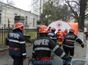pompieri si paramedici victime alarmare chimica