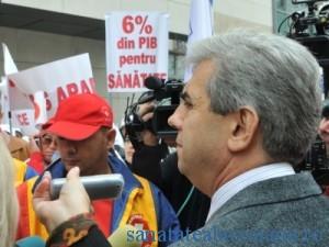 SANITAS i-a cerut ministrului Sanatatii sa obtina cresterea bugetului