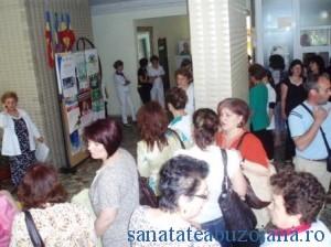 Protest Spitalil Judetean Buzau (foto arhiva)