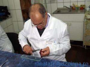 Examen trichineloscopic