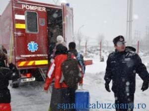 echipa transplant blocata in nameti