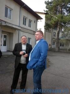 Cristi Bigiu si Gheorghe Sturzu  la Parscov