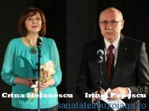 Crina Stefanescu si Irinel Popescu
