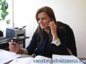 Dr.Viorica Mihalascu - manager Spital Sapoca
