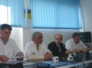 Conducerea SJU Buzau si echipa de transplant