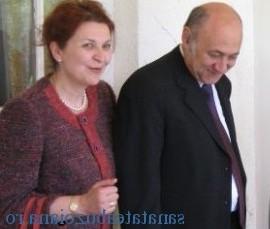 Dr. Crina Stefanescu si Dr. Irinel Popescu