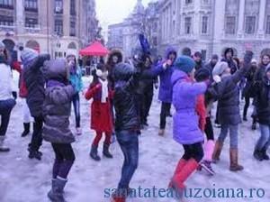 flashmob purple day