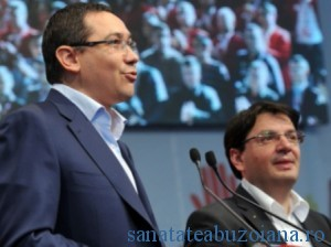 Premierul Ponta si ministrul Banicioiu