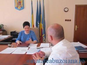 Prefectul Buleandra si subprefectul Sava
