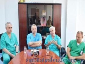 Echipa de transplant (foto Gazeta de Sud)