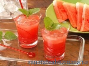 suc de pepene rosu