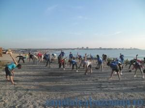 Sport pe plaja