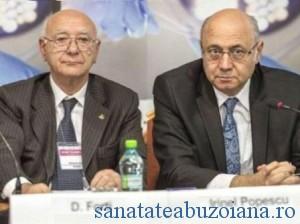Dr. Domenico Forti alaturi de dr. Irinel Popescu