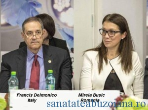 Francis frFrancis Delmonico si Mirela Busic