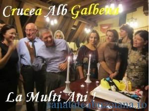La Multi Ani Crucea Alb-Galbena!