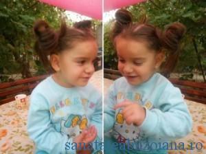 Stefania, la 5 ani