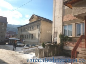 Spitalul Nehoiu iarna