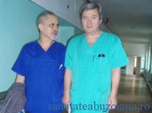Dr. M. Suteu impreuna cu dr. M. Halanga