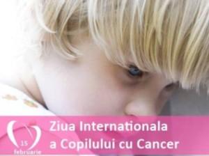 ziua copilului cu cancer