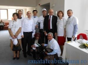 Irinel Popescu in mijlocul transplantatilor