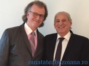 Andre Rieu impreuna cu Gheorghe Zamfir