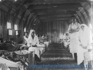 Spital de front in primul razboi mondial