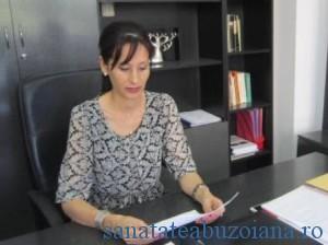 Daniela Dumitru, director DSP Buzau