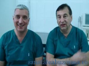 Dr. Marius Scarlat alaturi de dr. Paul Botez