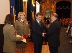 Gral. (rtr)medic prof. univ. dr. Constantin Dumitru DULCAN, premiat