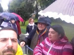 Laurian Stanchescu, intre medici (foto Cristi Clot)